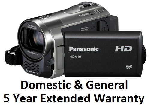 CAMCORDER �751.00 - �1000.00 (5 Years) EXTENDED WARRANTY